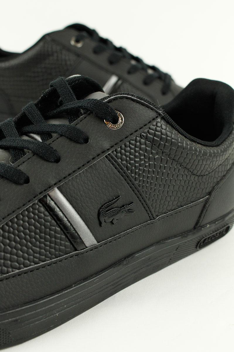 Lacoste Sneaker Europa Zwart Leer Foto 2