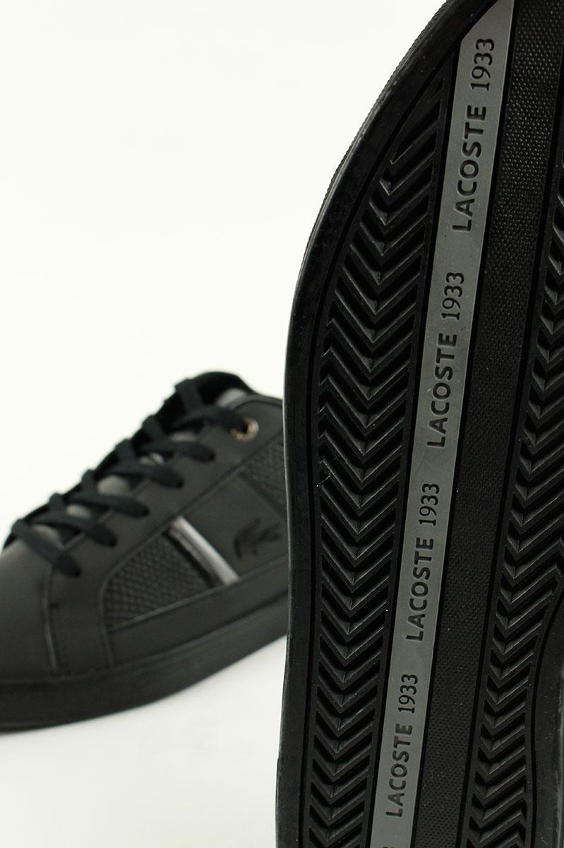 Lacoste Sneaker Europa Zwart Leer Foto 3