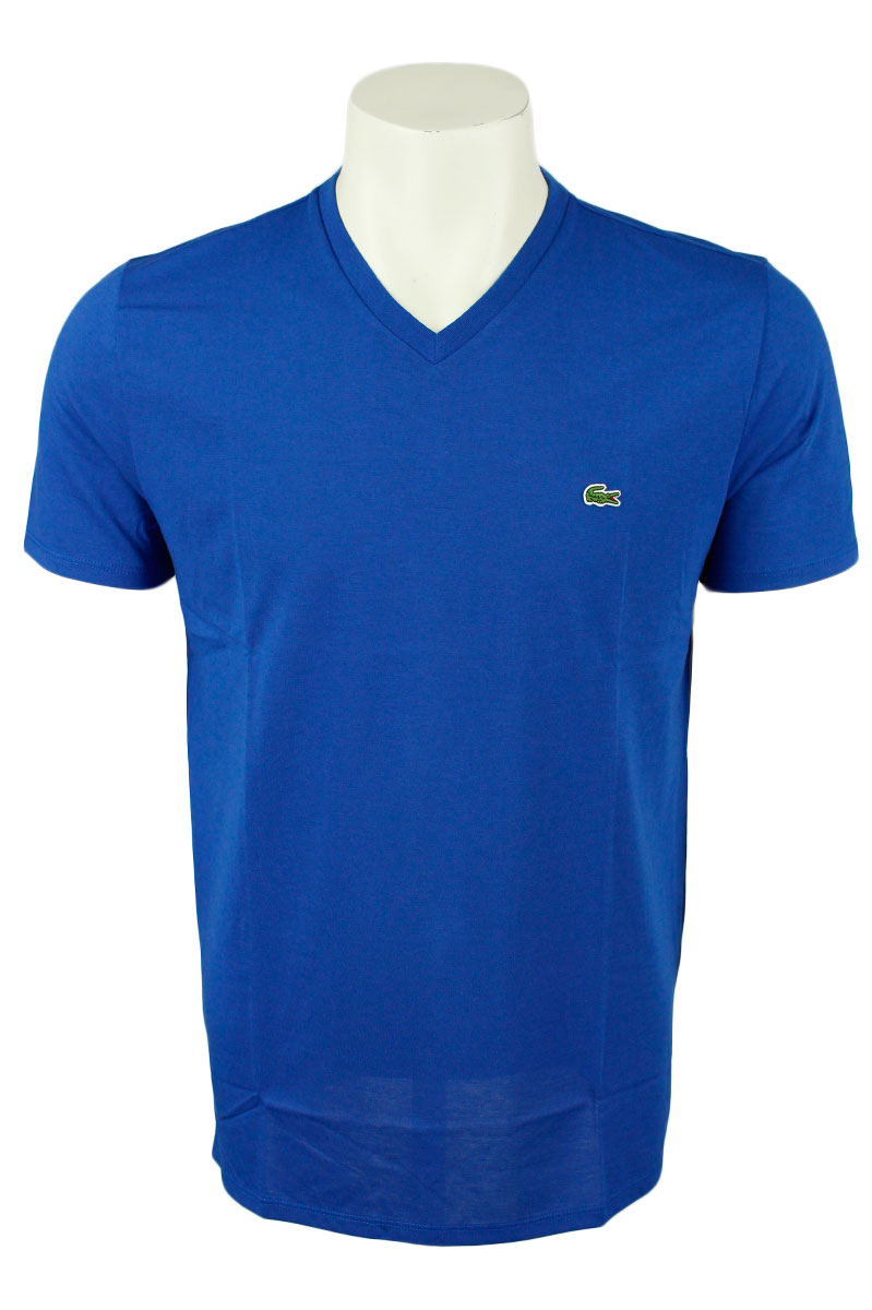 Lacoste T-Shirt V-Hals Katoen Slim Fit Foto 1