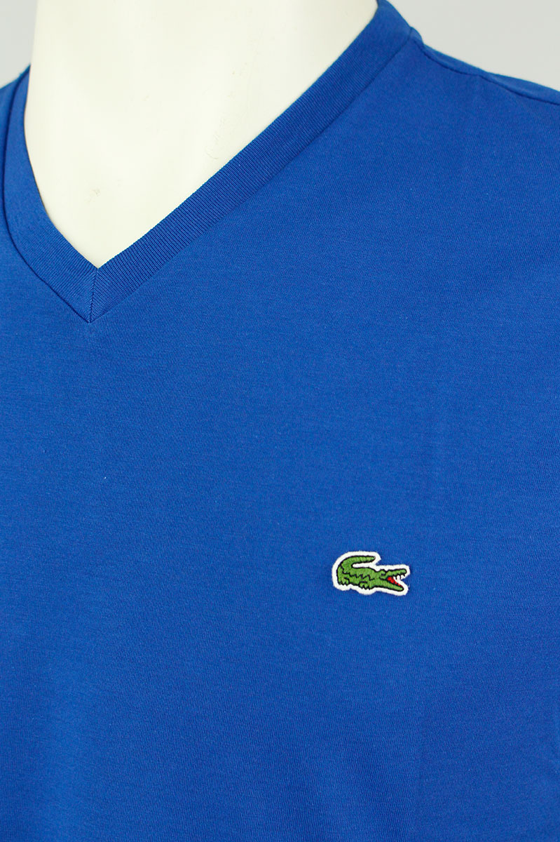 Lacoste T-Shirt V-Hals Katoen Slim Fit Foto 3