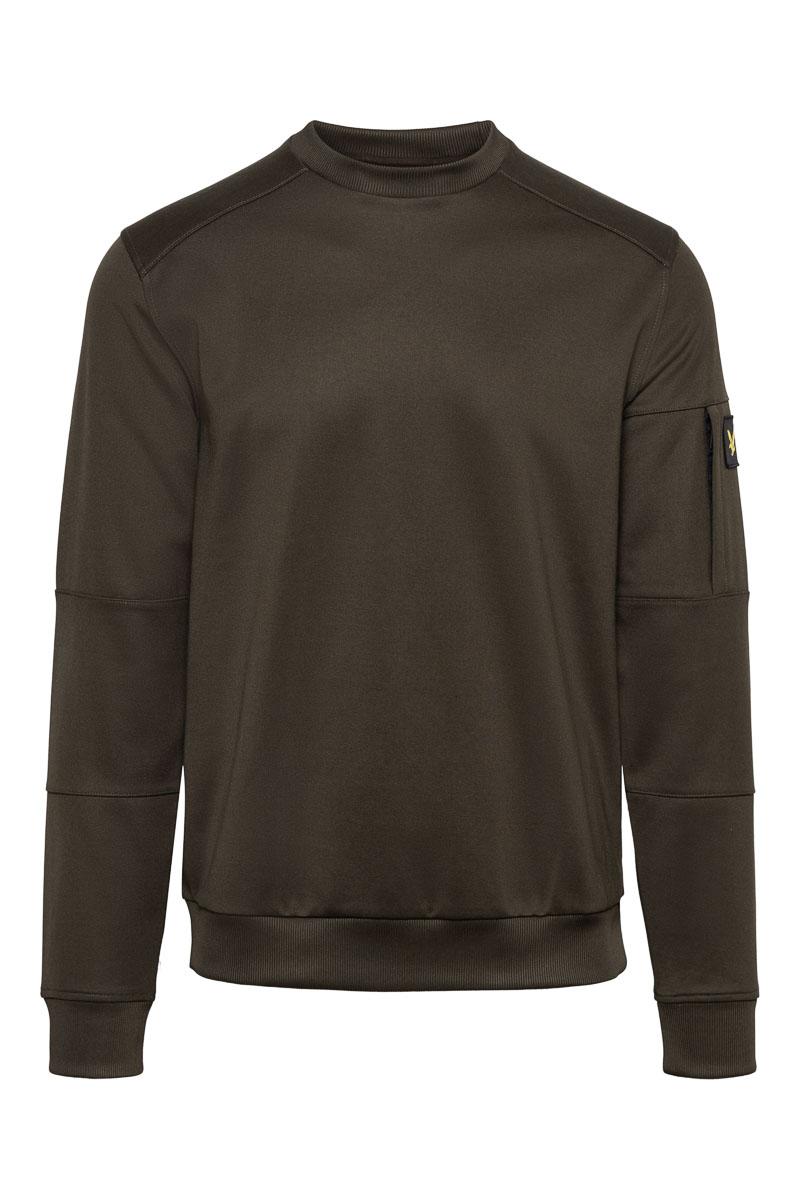 Lyle & Scott Cotton Fleece Mix Pocket Sweater Foto 1