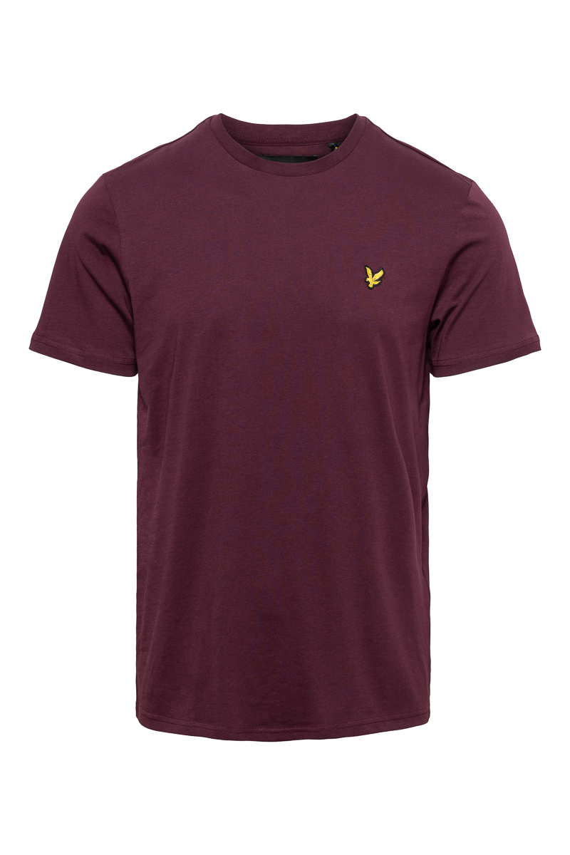Lyle & Scott Cotton T-Shirt Crew Neck Foto 1