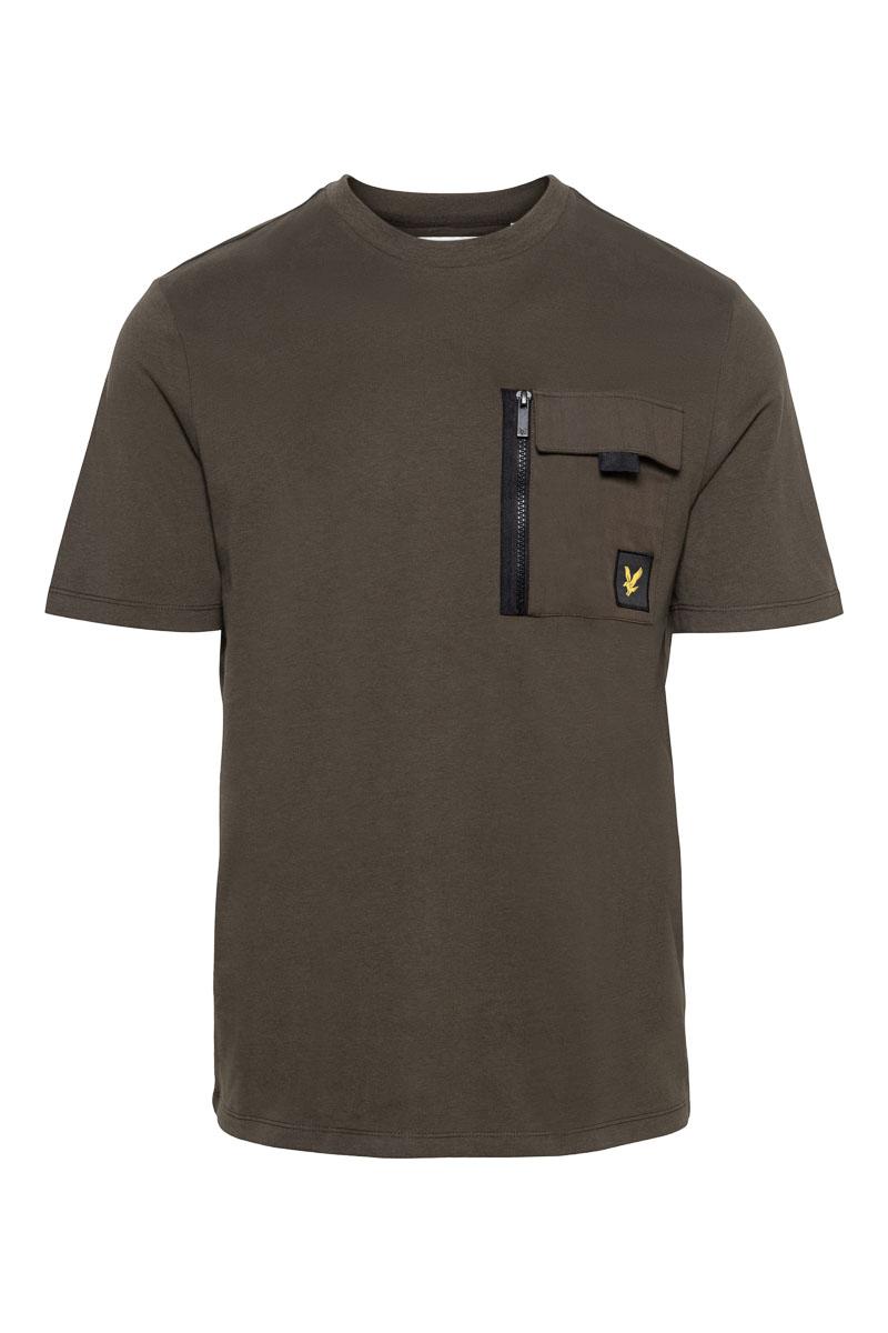 Lyle & Scott Cotton T-Shirt Pocket Foto 1