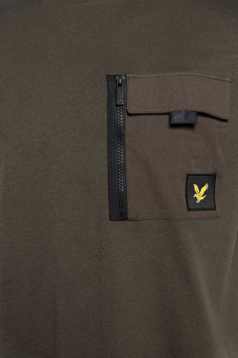 Lyle & Scott Cotton T-Shirt Pocket Foto 3