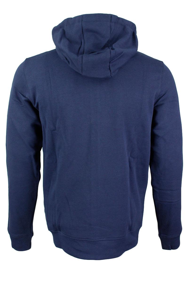 LYLE & SCOTT Sweater Hood Zip 100% Katoen Foto 2