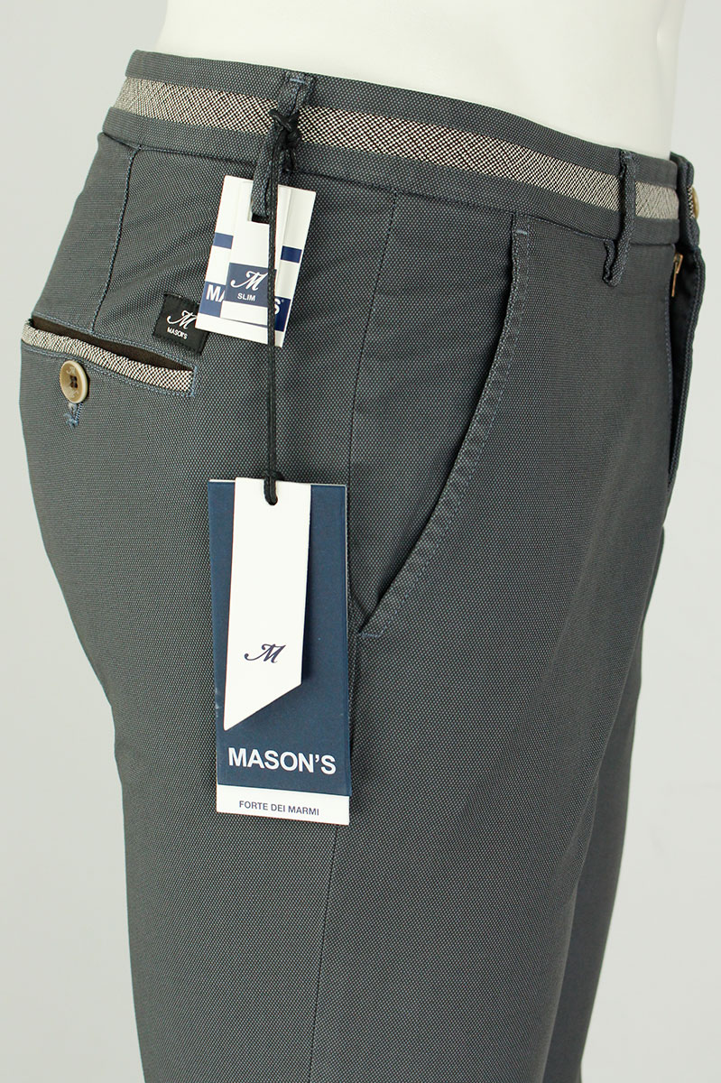 Mason Chino Model Torino 97% Katoen 3% Elastaan Ox Foto 4
