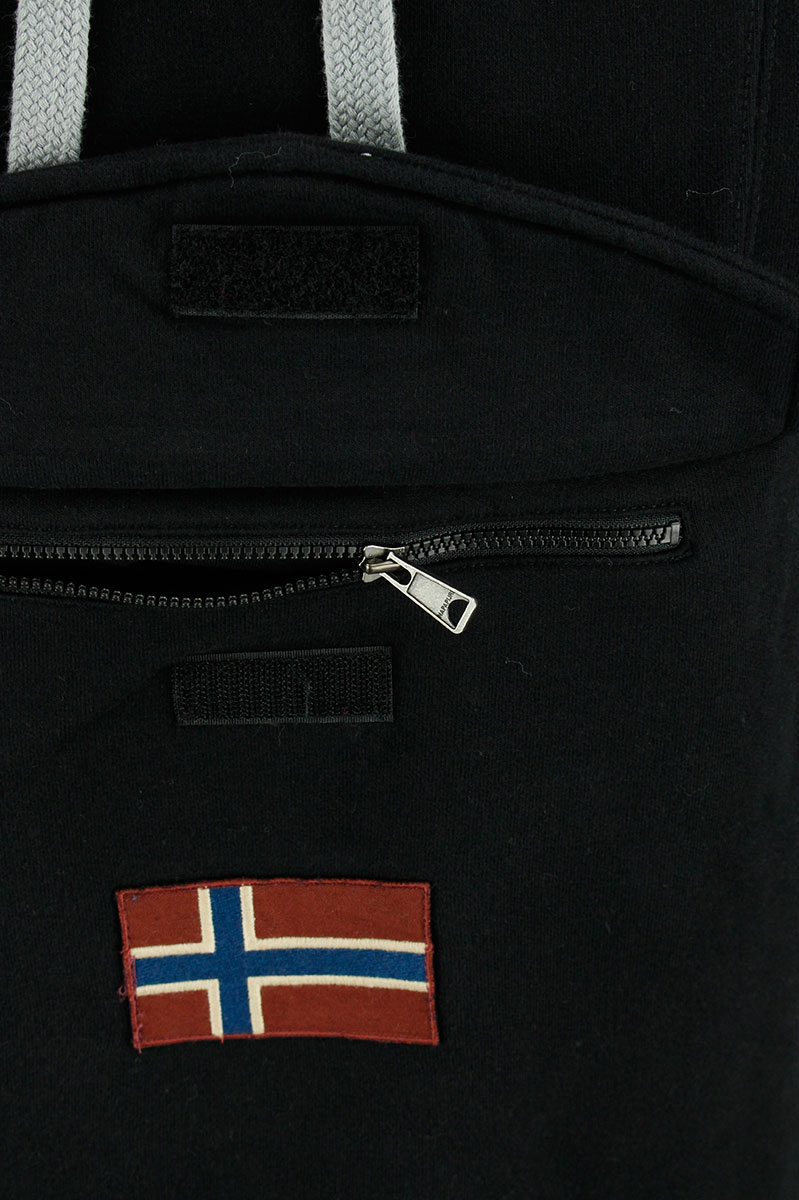 Napapijri Burgee Cotton Fleece Hood Pocket Logo Foto 3