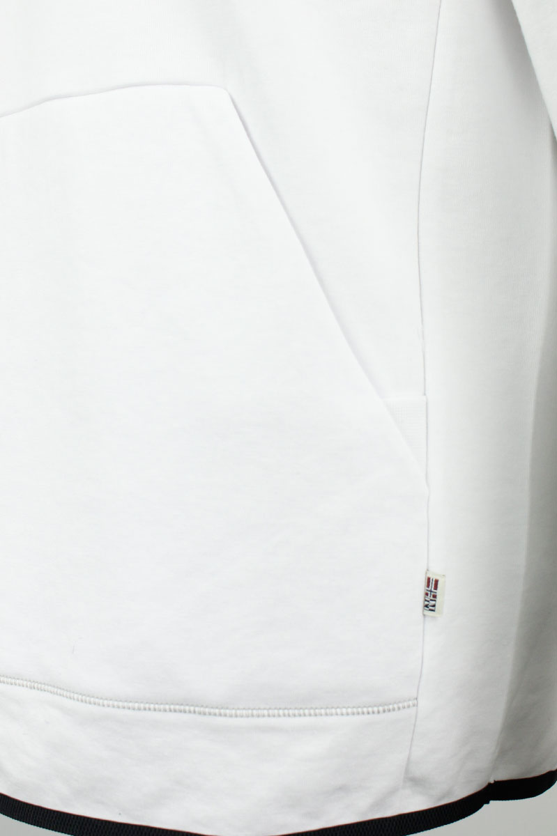 Napapijri Sweater Balme Polo Neck Cotton Mix Foto 4