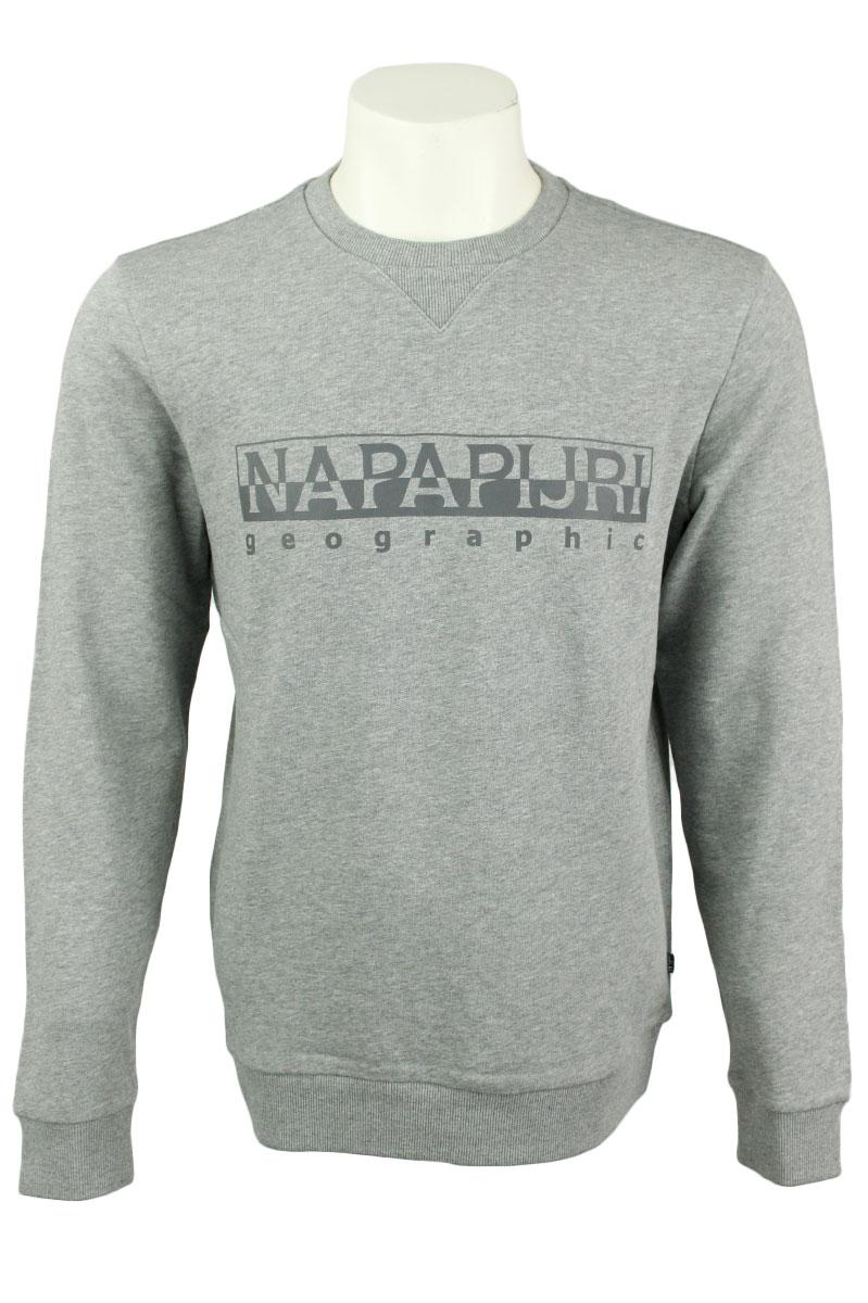 Napapijri Sweater Bevora Cotton Fleece Logo Foto 1