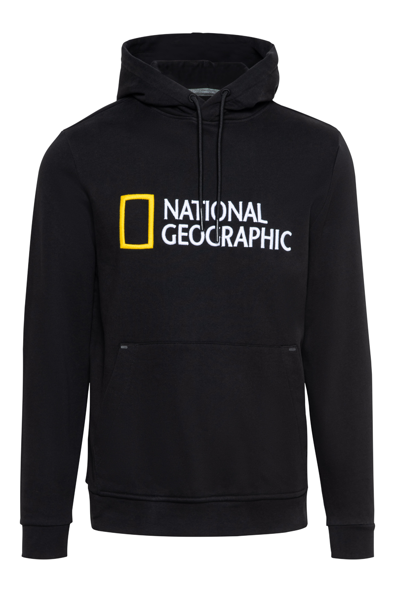 National Geographic Cotton Fleece Hoodie Foto 1