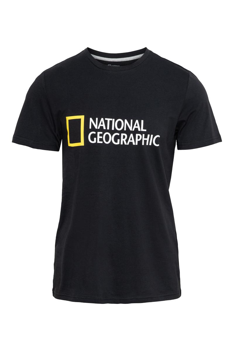 National Geographic Organic Cotton T-Shirt Crew Ne Foto 1