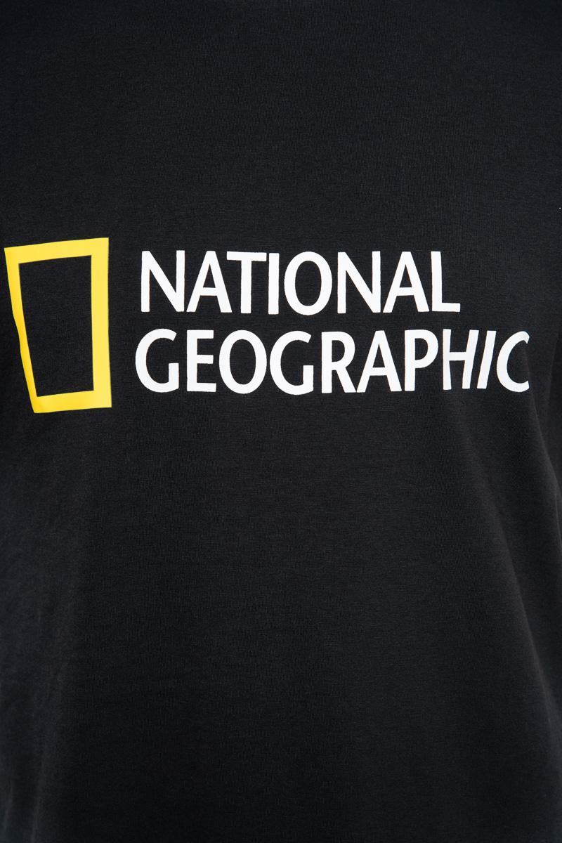 National Geographic Organic Cotton T-Shirt Crew Ne Foto 3