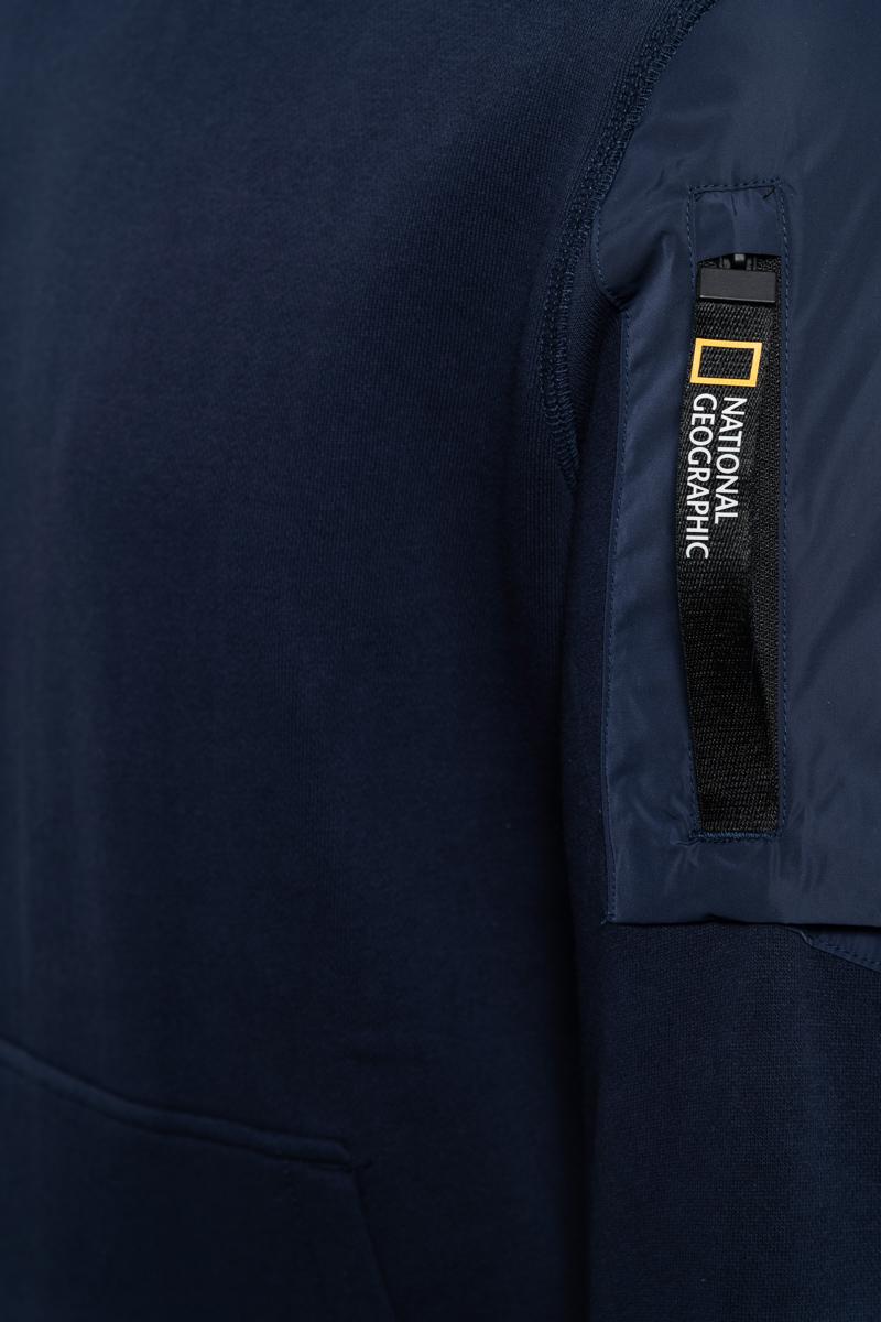 National Geographic Sweater Hood Pocket op de arm Foto 3