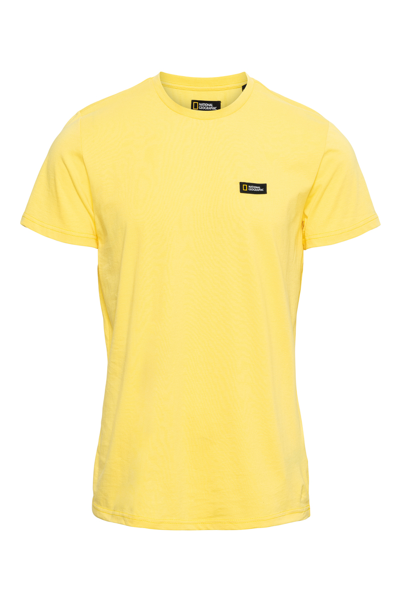 National Geographic T-Shirt Organic Cotton Logo Foto 1