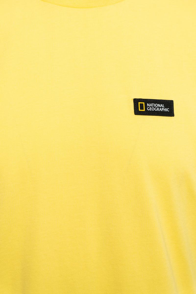 National Geographic T-Shirt Organic Cotton Logo Foto 3