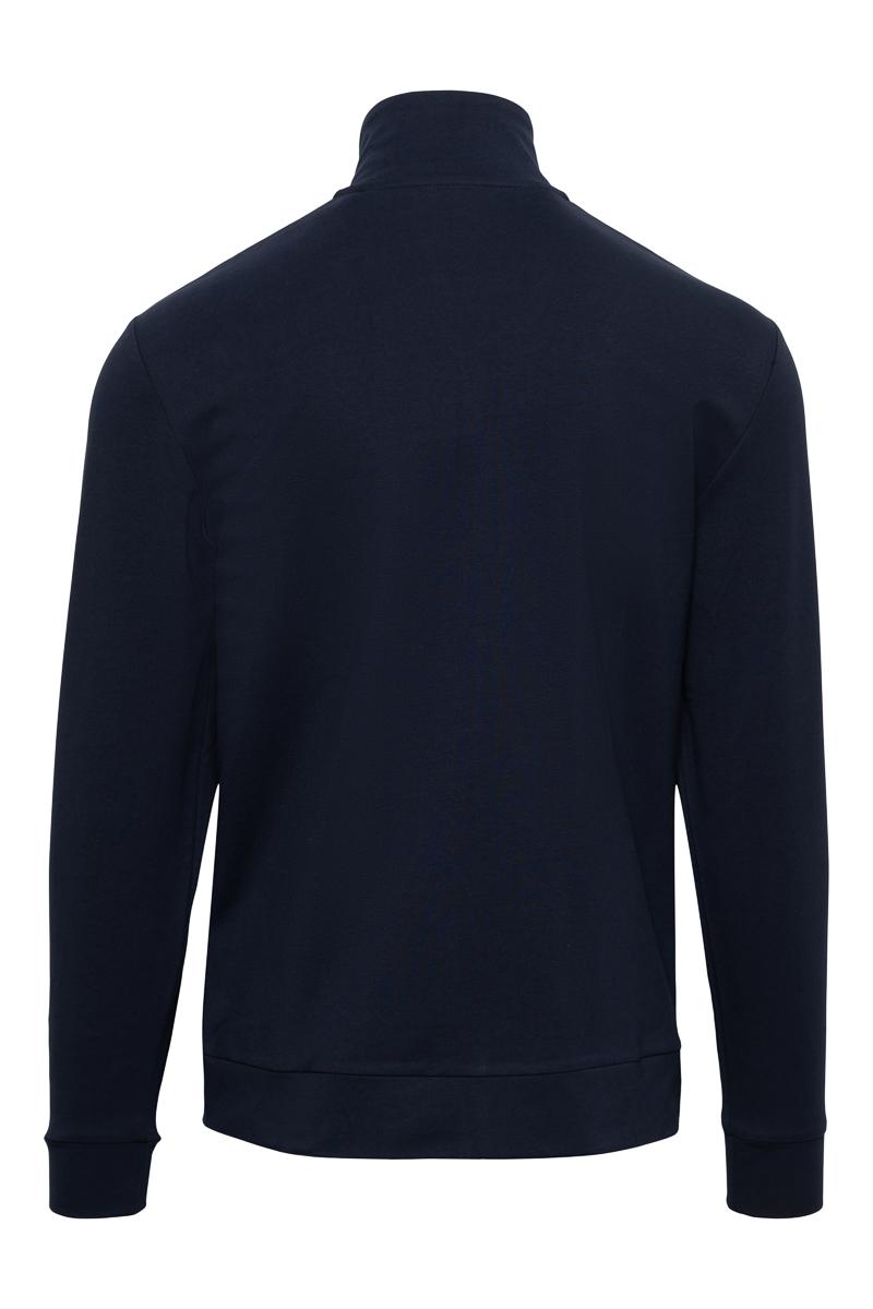 Paul & Shark Sweater Zip Polokraag 100% Organic Co Foto 2