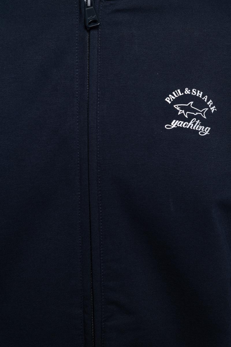 Paul & Shark Sweater Zip Polokraag 100% Organic Co Foto 3