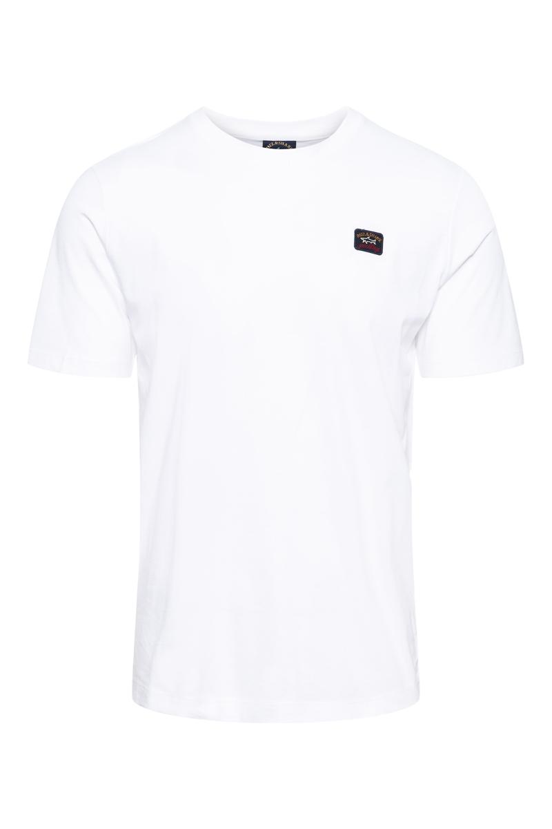 Paul & Shark T-Shirt Crew Neck  100% Organic Cotto Foto 1