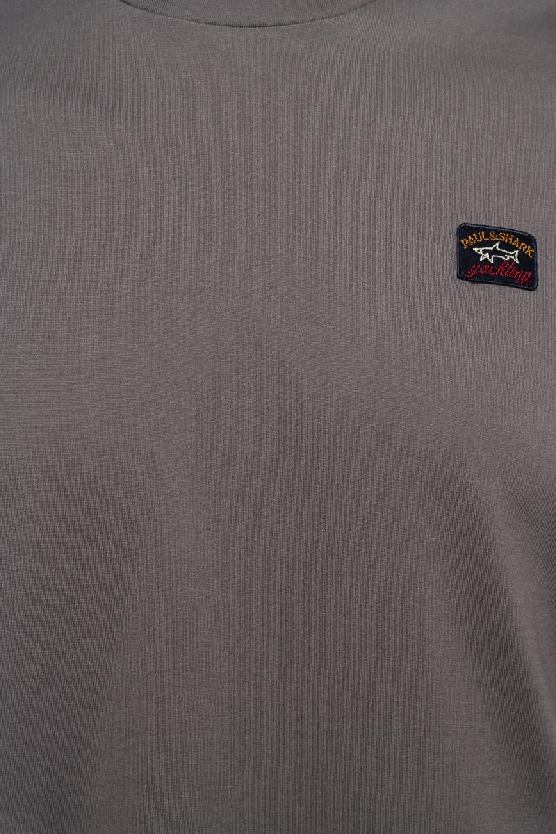 Paul & Shark T-Shirt Crew Neck  100% Organic Cotto Foto 3
