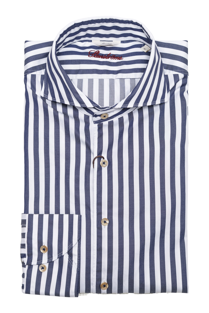 Stenstroms Overhemd 2ply Slimline Foto 1