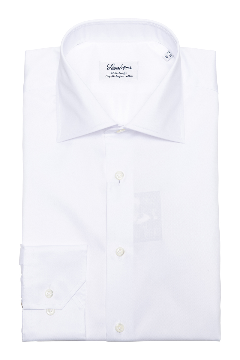 Stenstroms Overhemd Fitted Body 2 Ply Cotton Foto 1