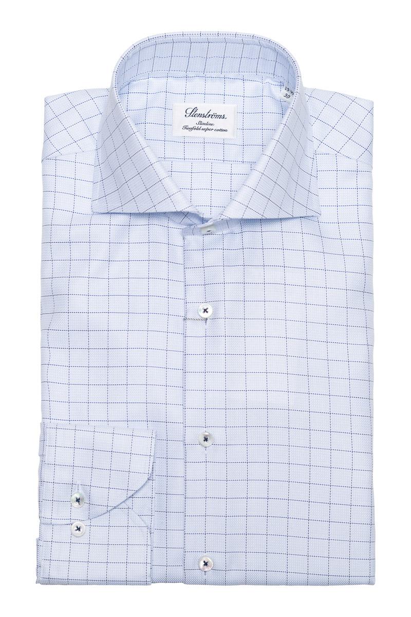 Stenstroms Overhemd Slimline 2 Ply Cotton Foto 1