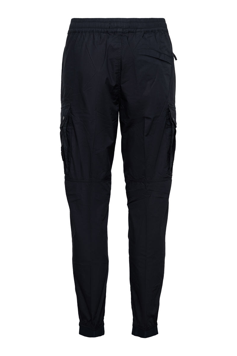 Stone Island Jogger Pants Light Cotton Donkerblauw Foto 2