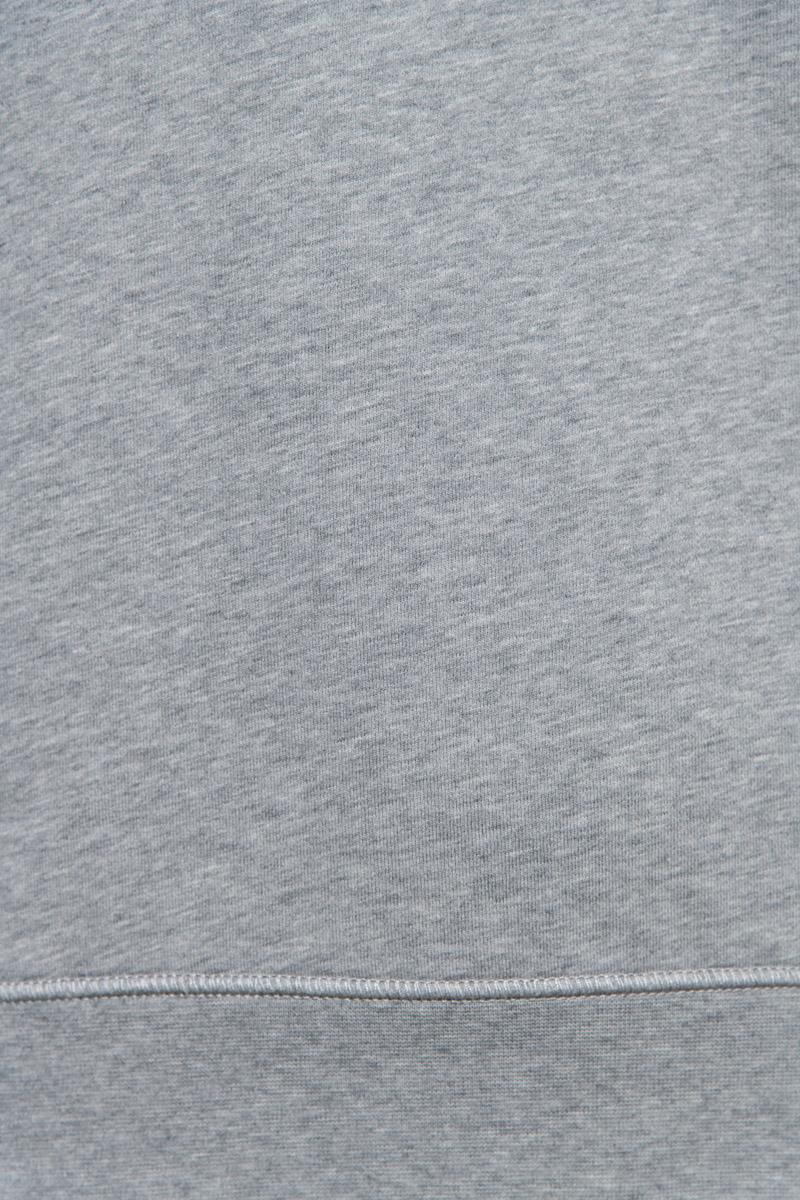 Stone Island Sweater 63051 Cotton Fleece 100% Katoen Lichtgrijs Foto 3