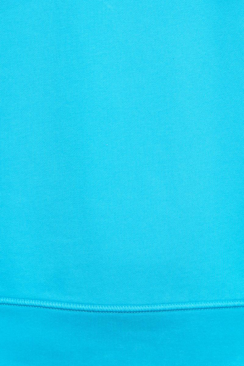 Stone Island Sweater 63051 Cotton Fleece 100% Katoen Turquoise Foto 3