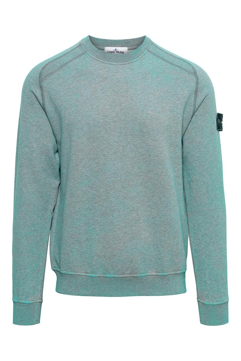 Stone Island Cotton Fleece 100% Katoen Dust Color