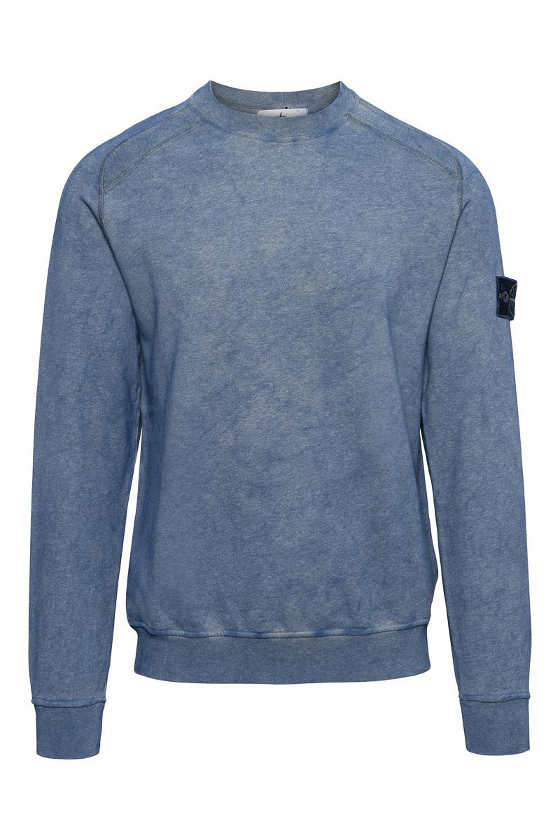 Stone Island Cotton Fleece 100% Katoen Dust Color  Foto 1