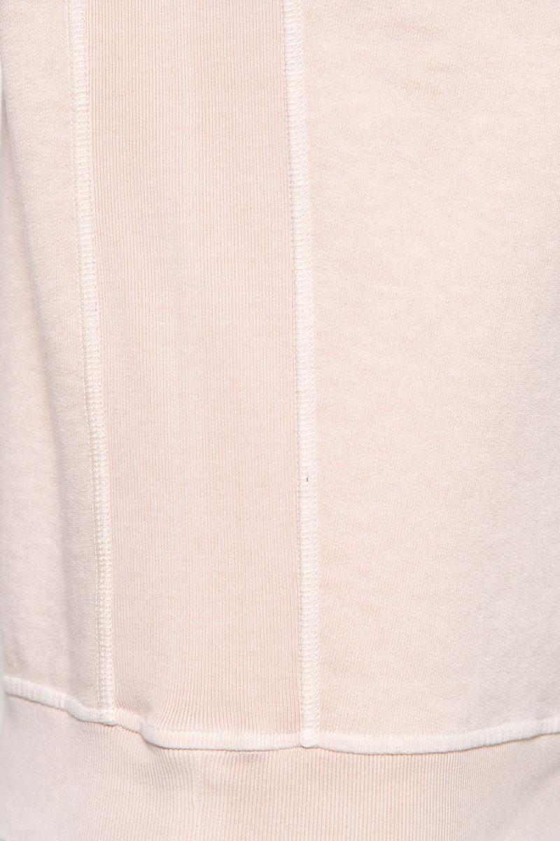 Stone Island Trui 66060 Cotton Fleece 100% Katoen Dyed Roze Foto 3
