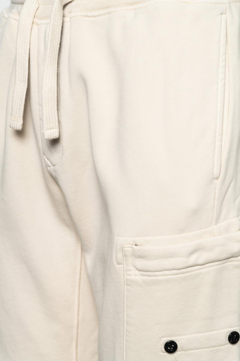 Stone Island Cotton Fleece Pants 100% Katoen Foto 3