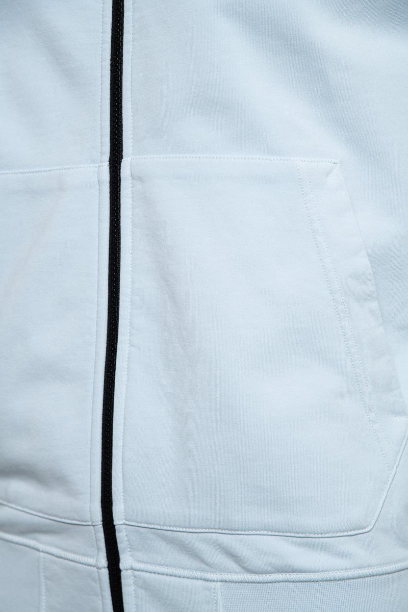 Stone Island Cotton Fleece Zip Hoody 100% Katoen Foto 3