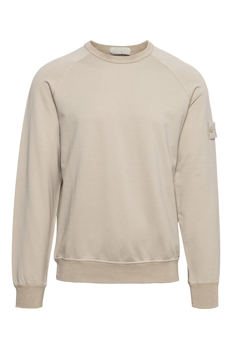 Stone Island Sweater 659F3 Ghost Sweater Beige Foto 1