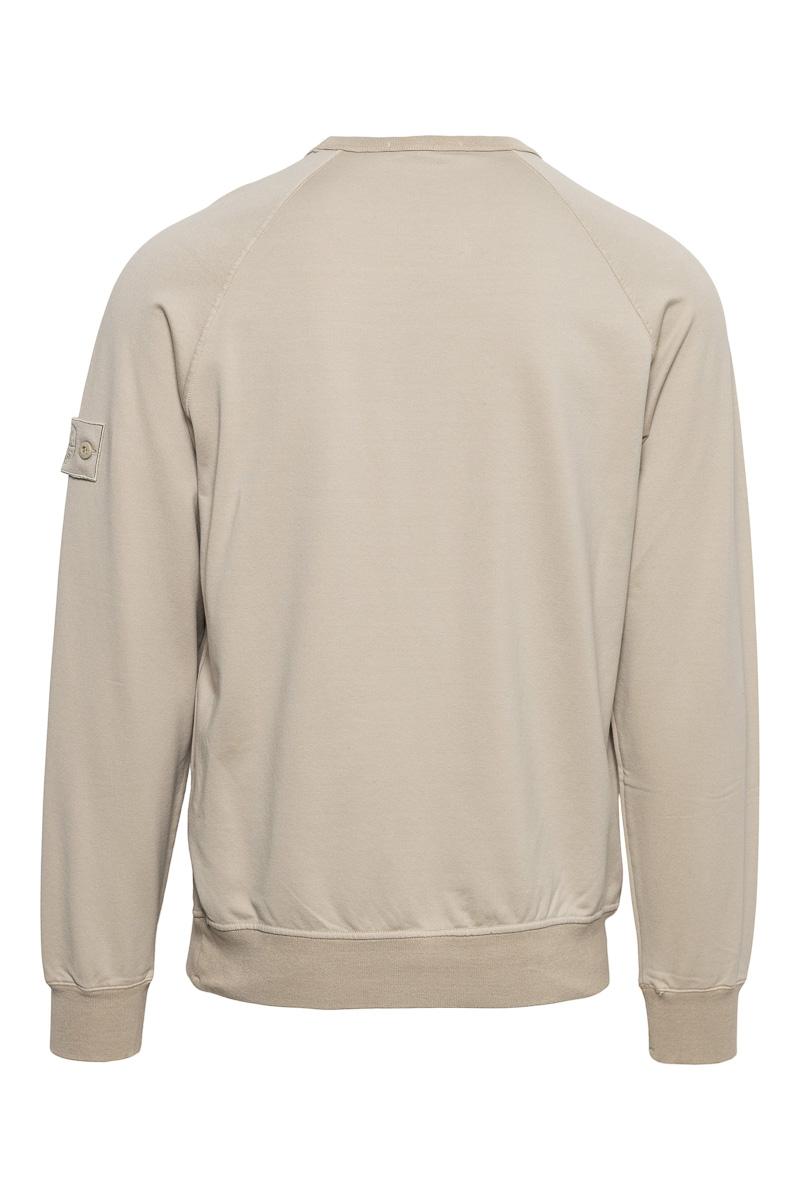 Stone Island Sweater 659F3 Ghost Sweater Beige Foto 2