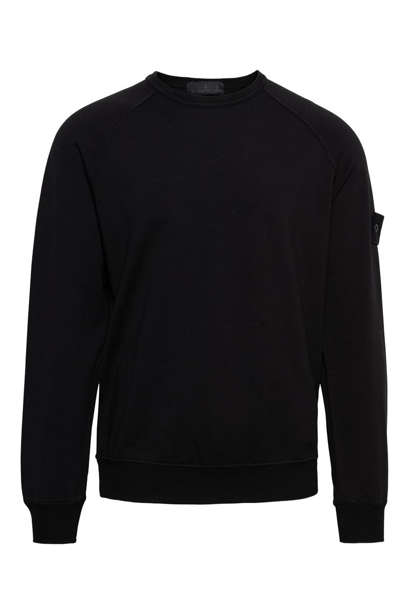 Stone Island Sweater 659F3 Ghost Sweater Zwart Foto 1