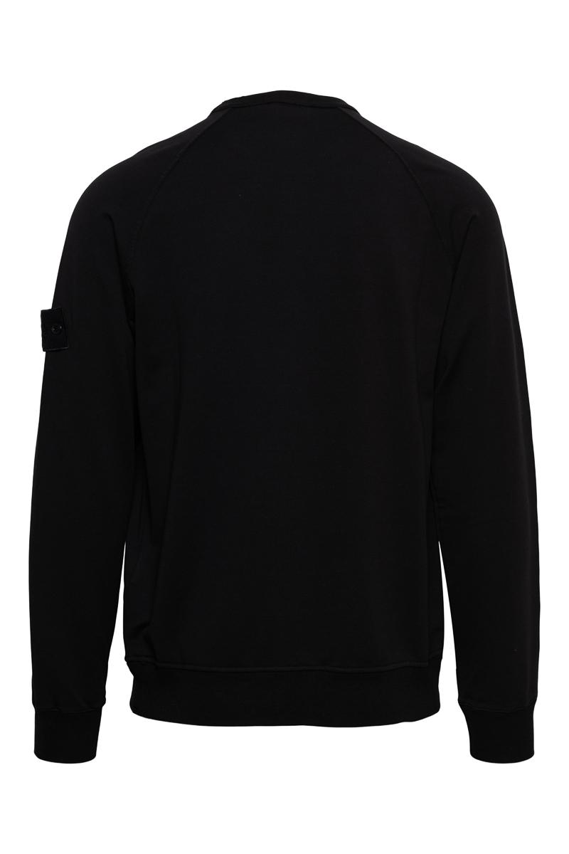 Stone Island Sweater 659F3 Ghost Sweater Zwart Foto 2