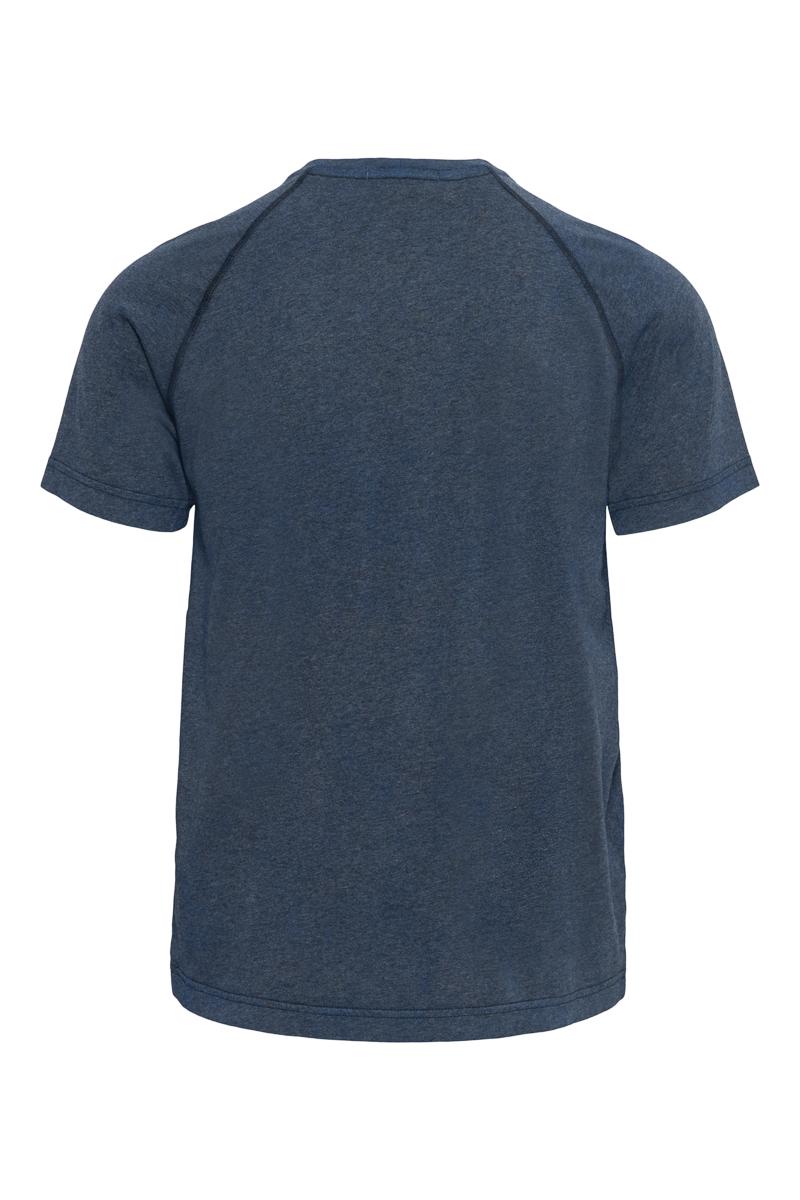 Stone Island T-shirt 22893 Jersey Cotone Melange Dust Donkerblauw Foto 2