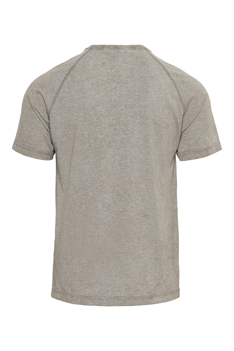 Stone Island T-shirt 22893 Jersey Cotone Melange Dust Olijfgroen Foto 2