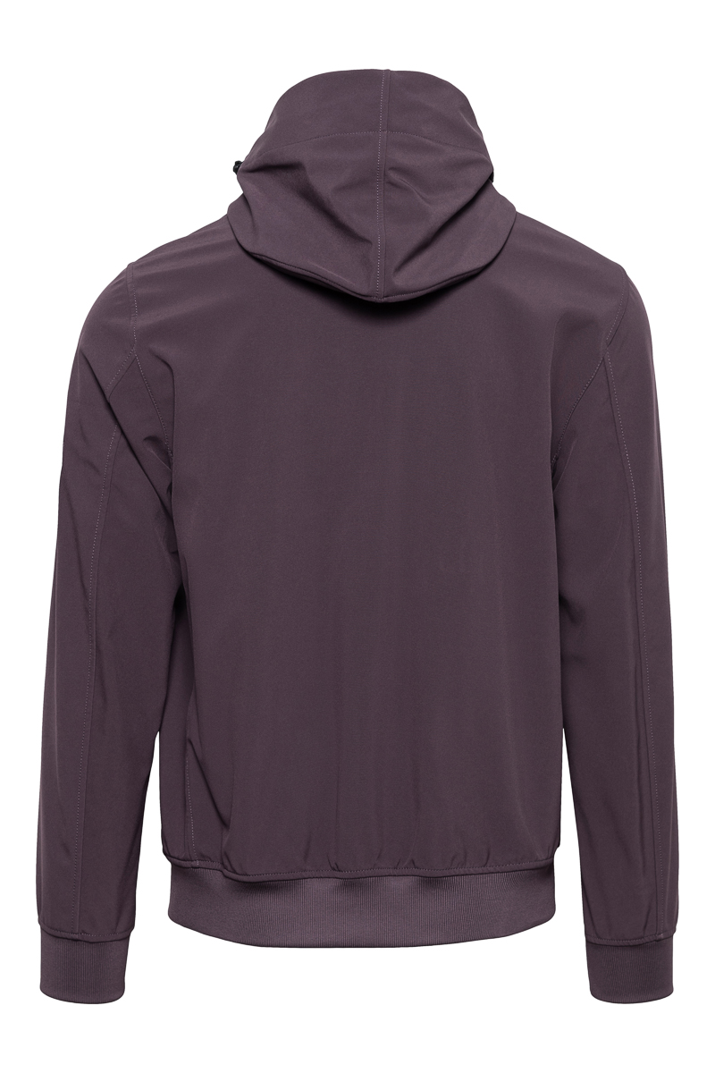 Stone Island Soft Shell E-Dyed Paars Foto 2