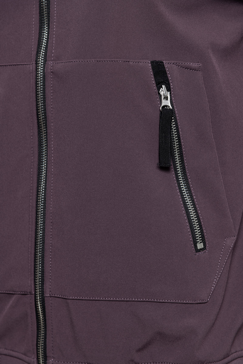 Stone Island Soft Shell E-Dyed Paars Foto 3