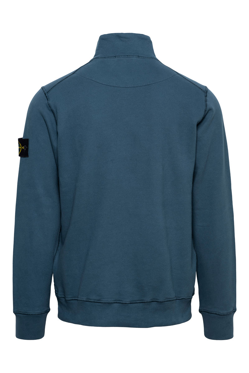 Stone Island Sweater Polokraag 100% Katoen Foto 2