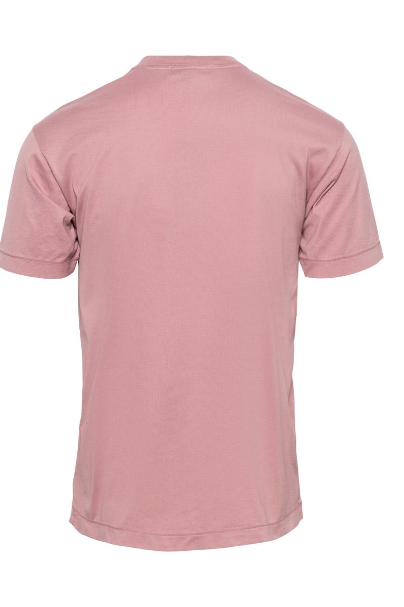 Stone Island T-Shirt 100% Katoen Gemerceriseerd Foto 2