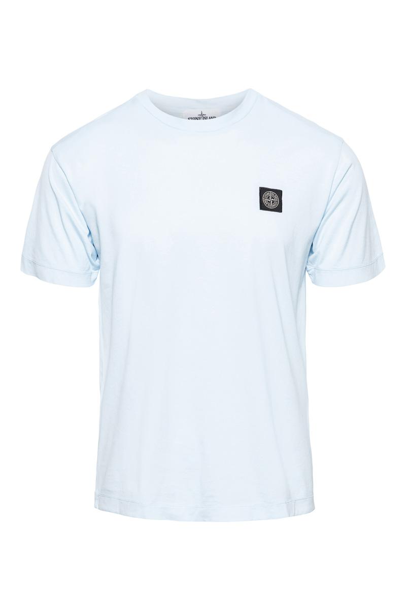 Stone Island T-Shirt 100% Katoen Gemerceriseerd Foto 1
