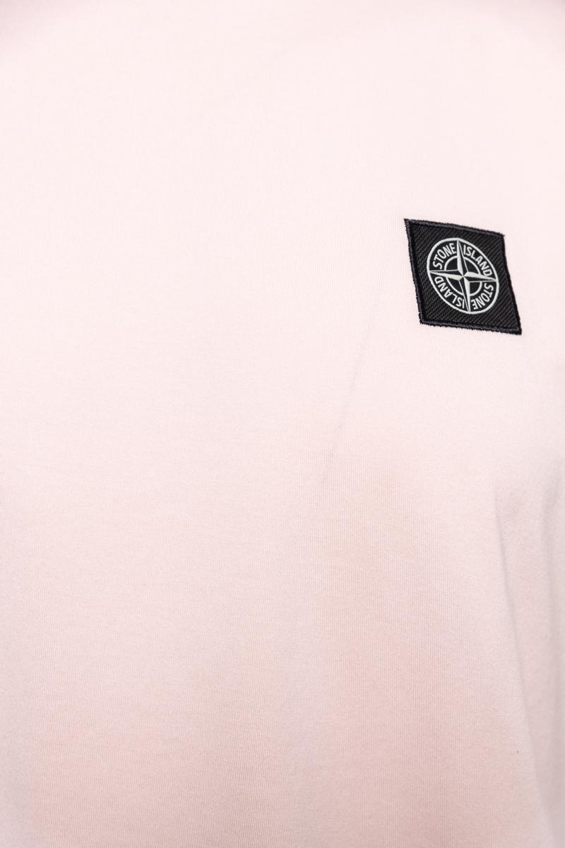 Stone Island T-Shirt 100% Katoen Gemerceriseerd Foto 3