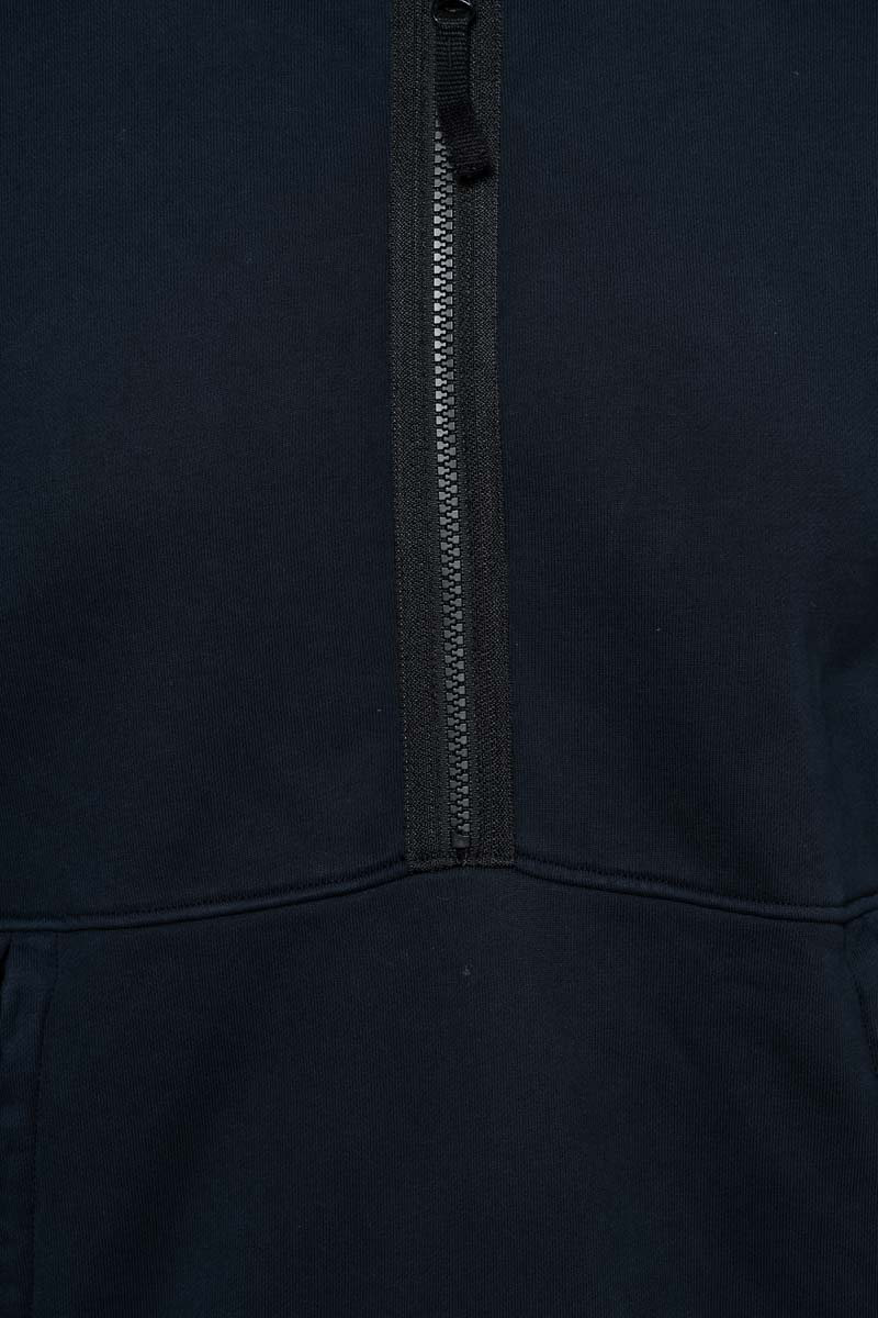 Stone Island Trui 60451 Sweater Hood Zip Donkerblauw Foto 3