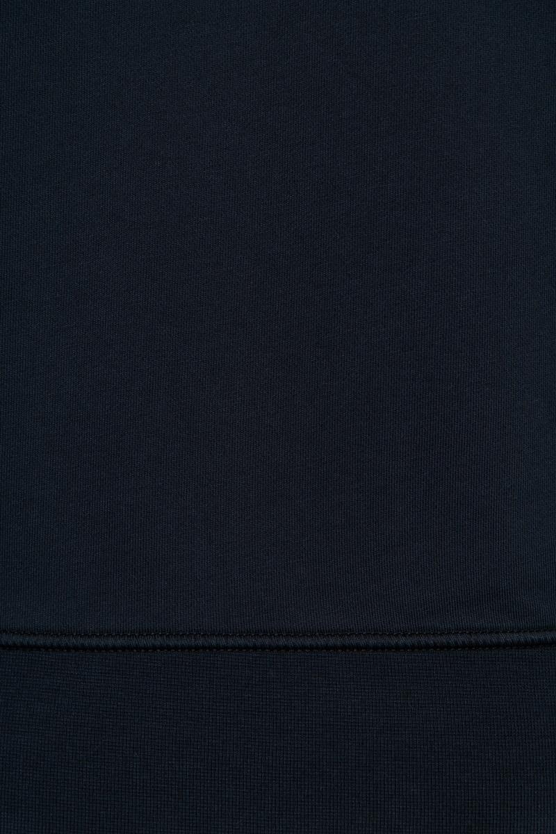 Stone Island Sweater 63051 Cotton 100% Katoen Donkerblauw Foto 3