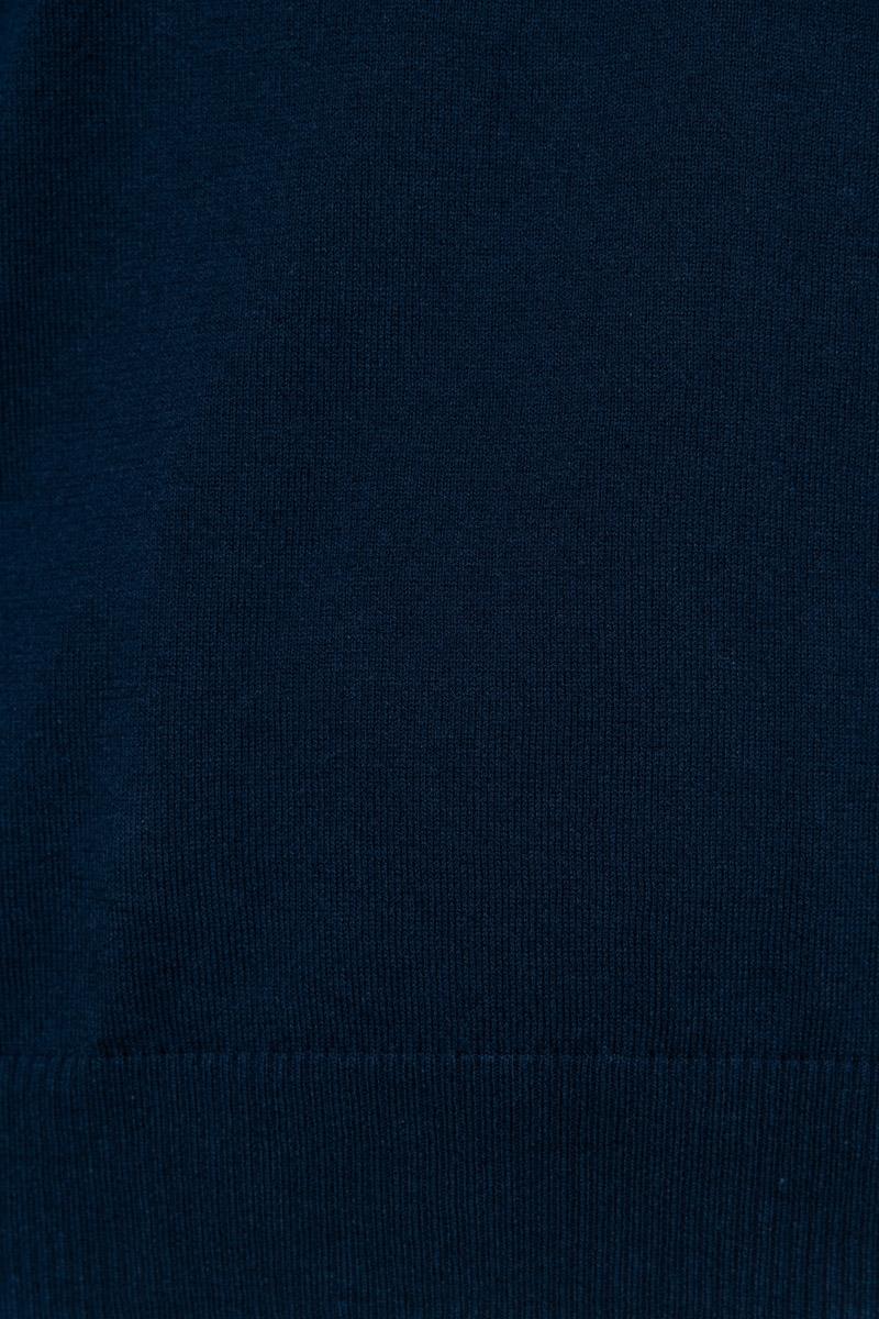 Stone Island Trui 511B9 Katoen Heavy Knit Donkerblauw Foto 3