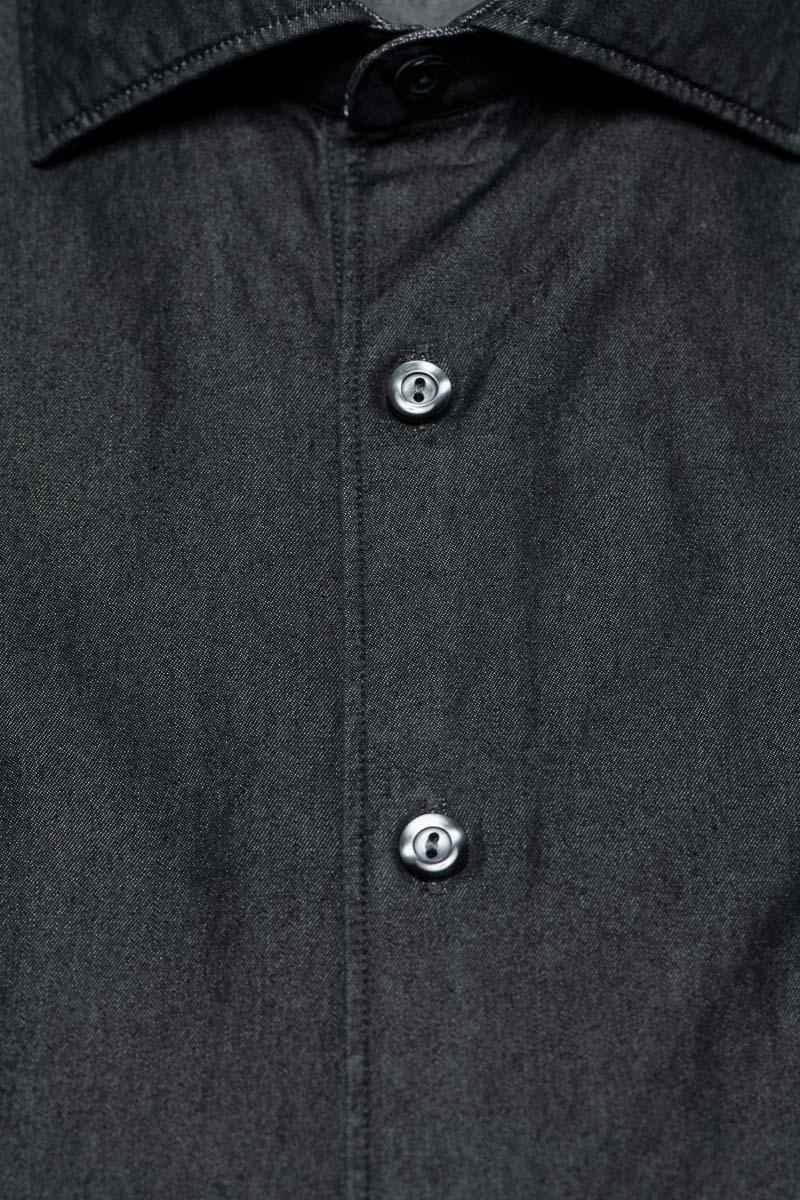 Tintoria Mattei Denim Shirt 100% Katoen Foto 2